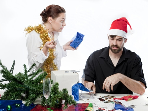 Weihnachtskrise statt harmonische Paarbeziehung?