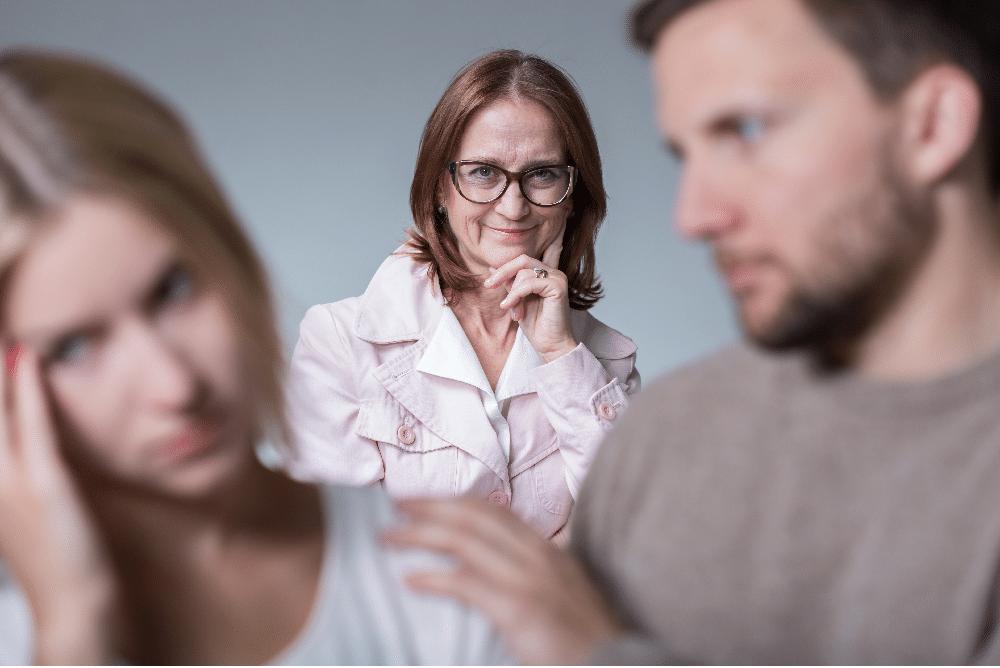 Schwiegermutter übergriffig